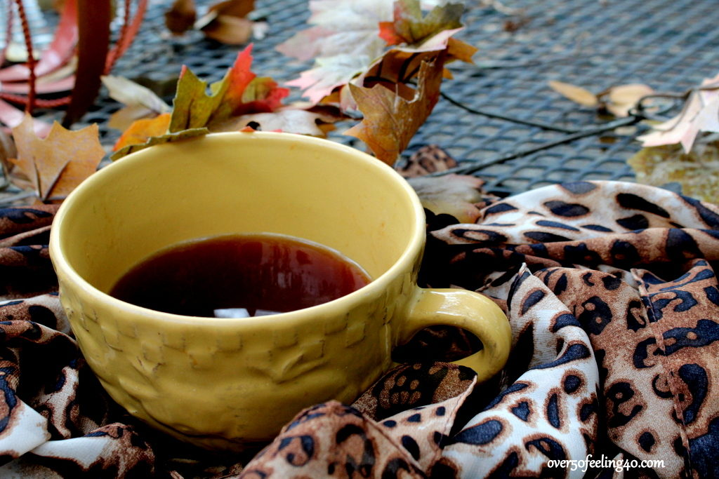 Coffee with Pamela Lutrell on an Autumn Morning