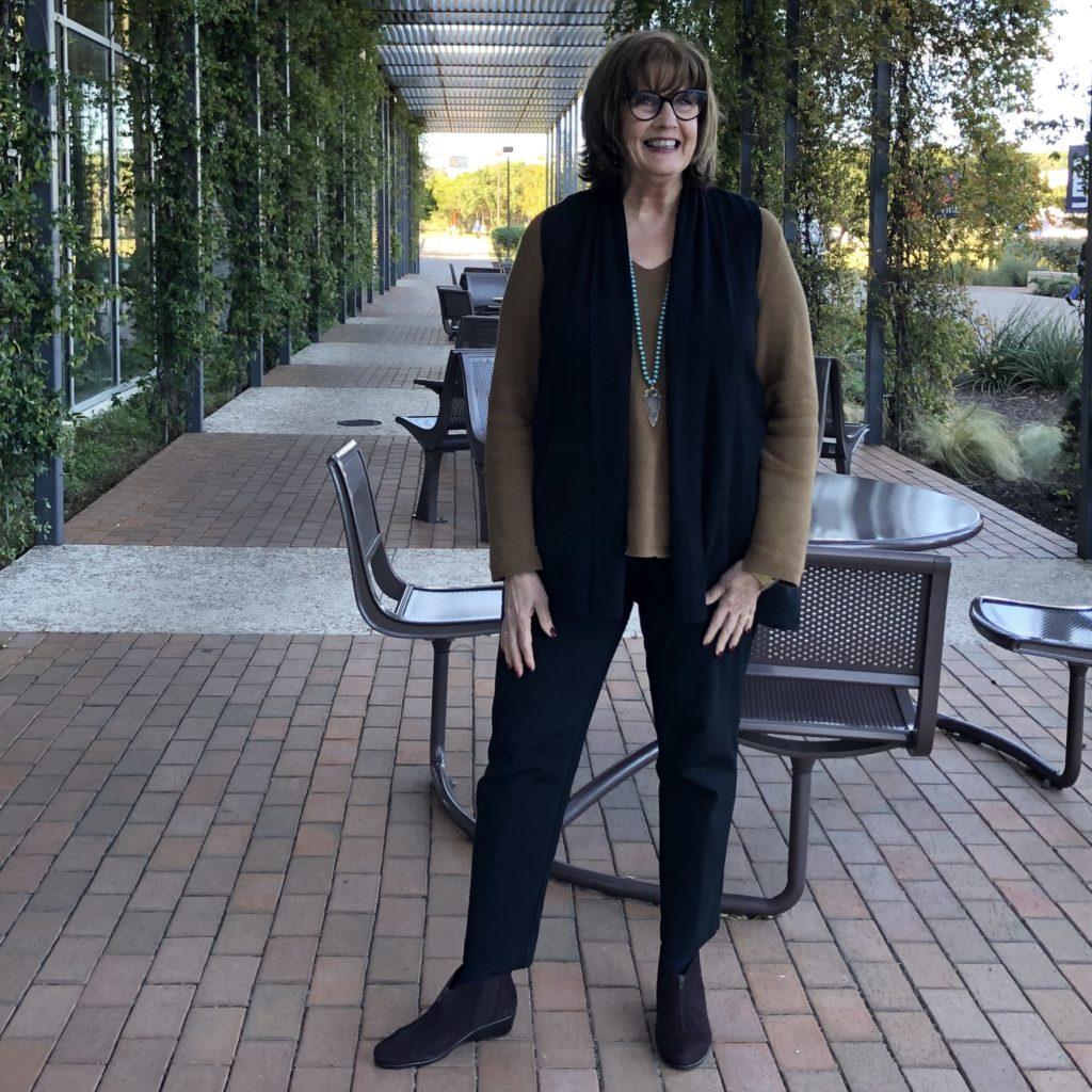 Pamela Lutrell Wears Autumn Trends