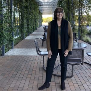 Pamela Lutrell wears autumn pieces from JJill collections past