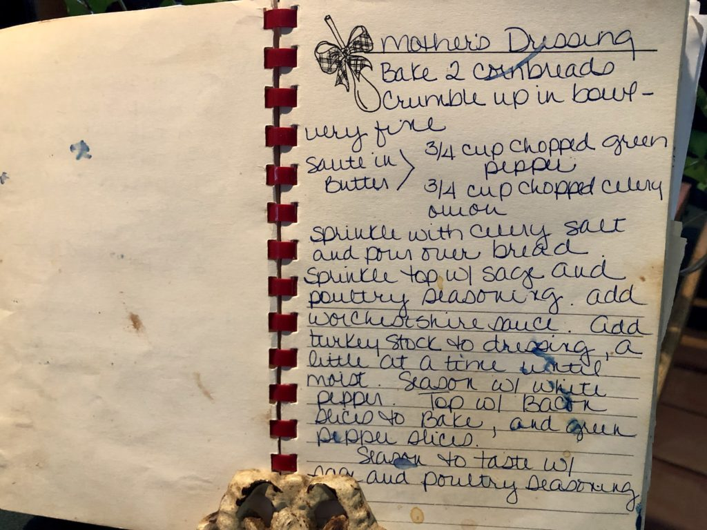 Pamela Lutrell's Family Dressing Recipe