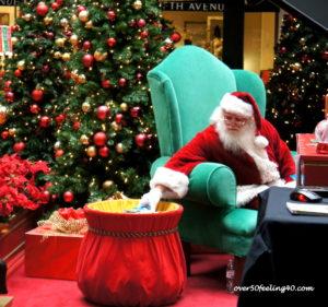 Pamela Lutrell's Image of Mall Santa