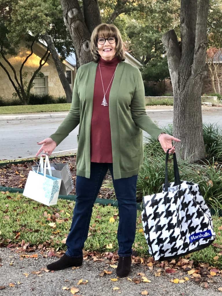 Pamela Lutrell on what to wear for holiday shopping