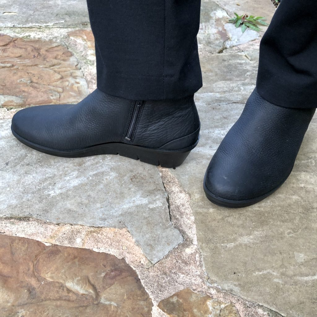 Over 50 feeling 40 in comfort boots by Ecco at Dillards