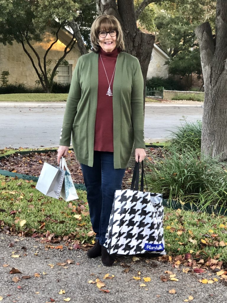 Over 50 Feeling 40 what to wear for shopping