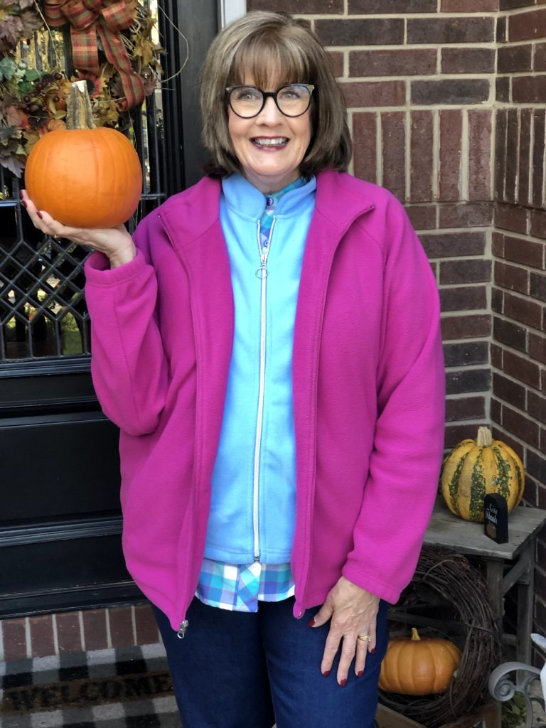 Over 50 Feeling 40 in Fleece for fall by Blair