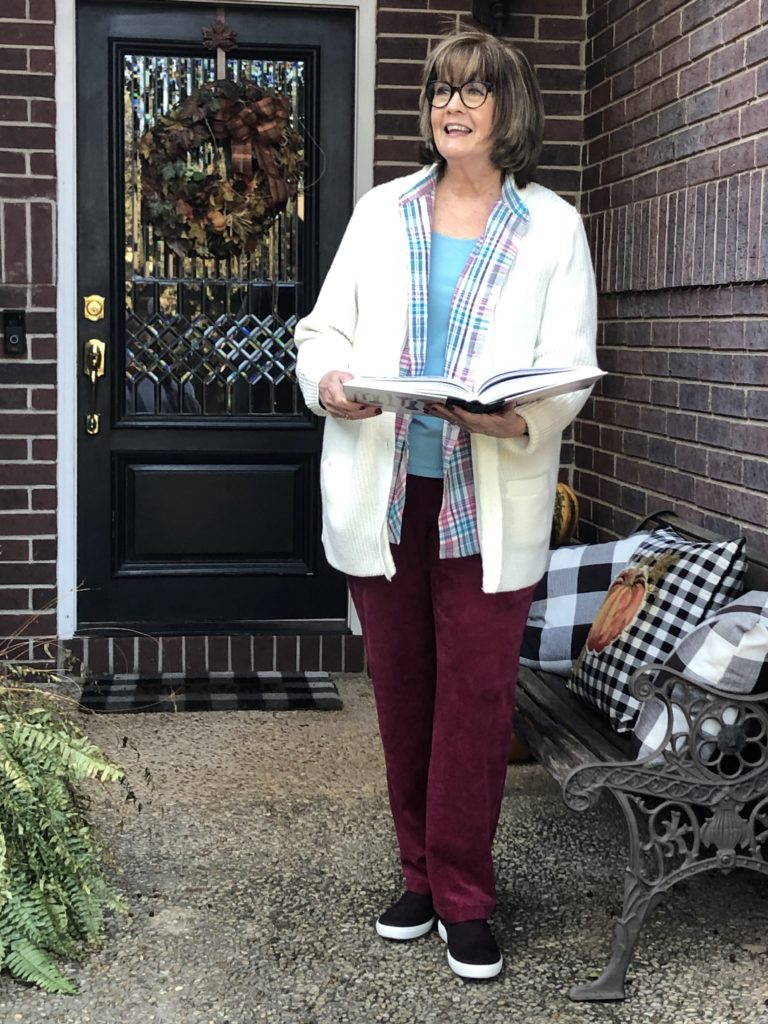Over 50 Feeling 40 in Fall Layers By Blair
