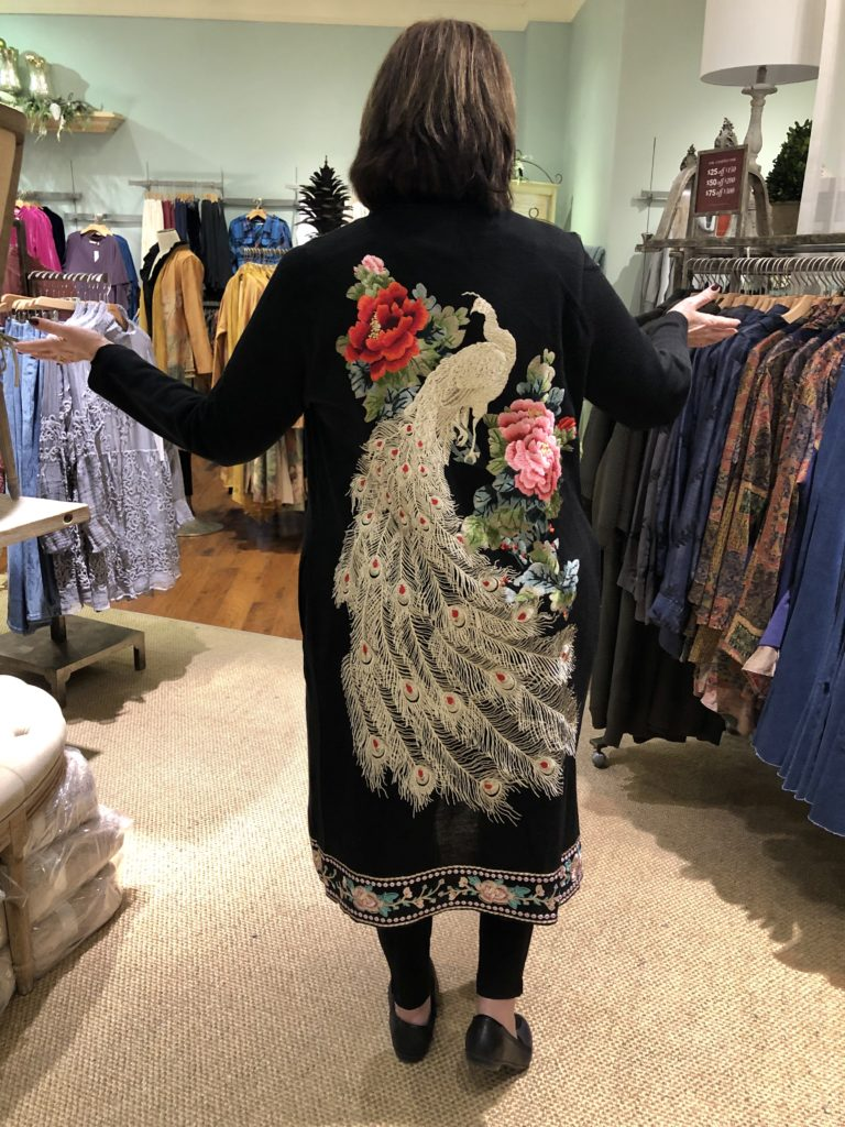 Over 50 Feeling 40 in 2019 holiday fashions for Soft Surroundings