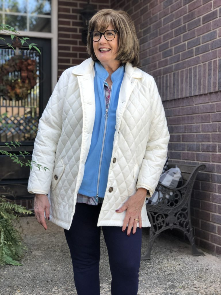 Over 50 Feeling 40 in fall fashions by Blair