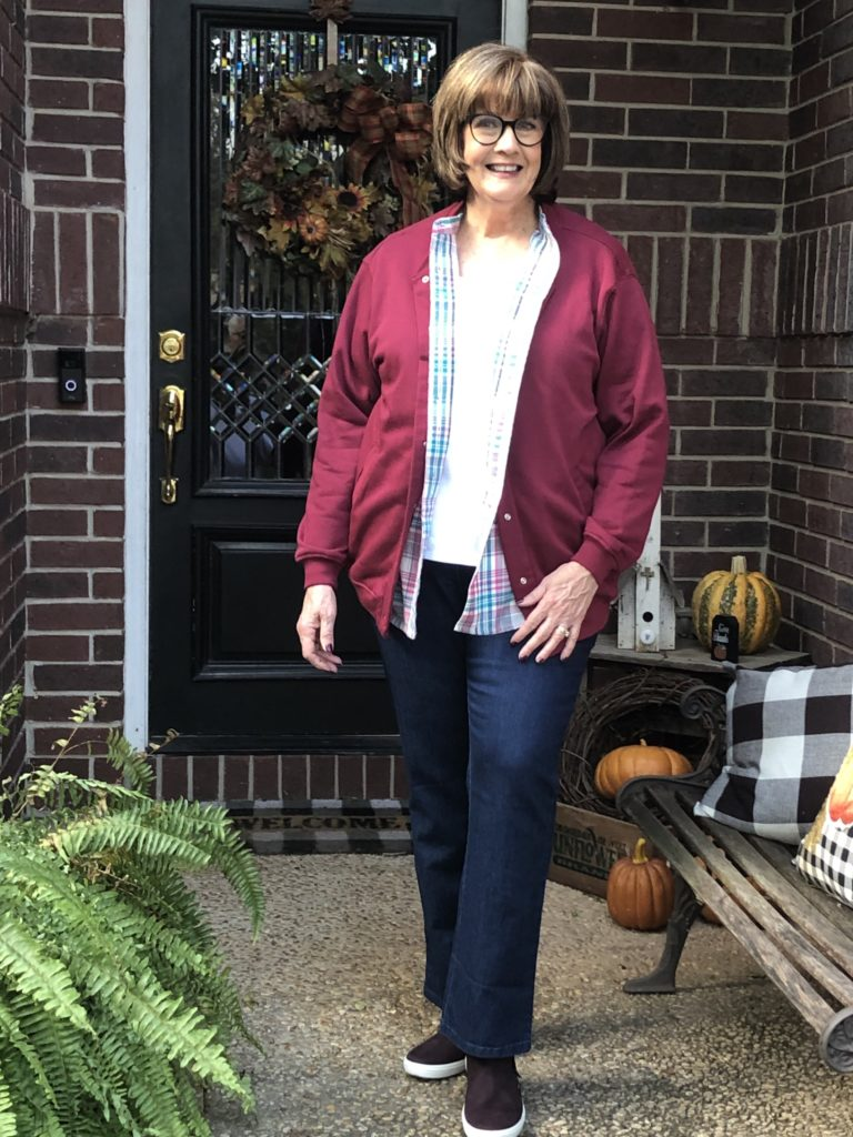Over 50 Feeling 40 in Fall Fashions from Blair