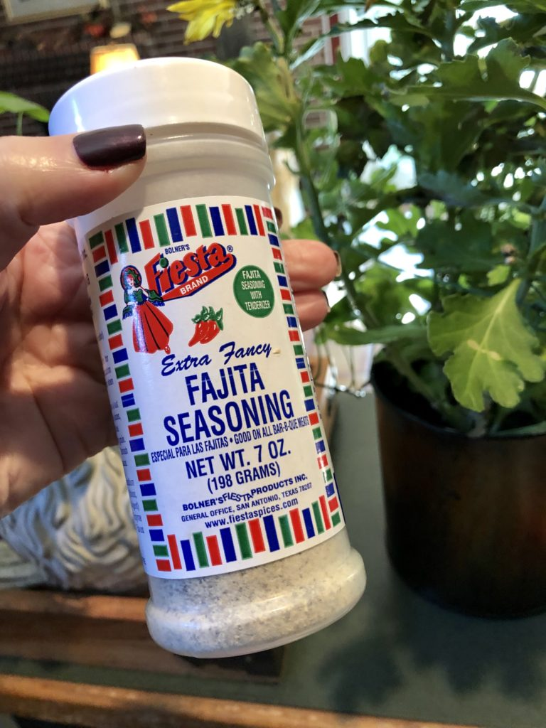 Pamela Lutrell makes soup with Fiesta Fajita Seasoning