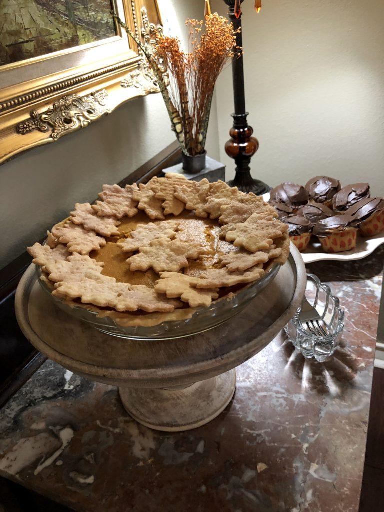 Pamela Lutrell creates the best pumpkin pie