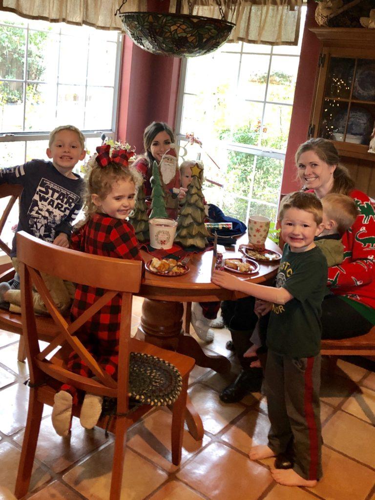 Pamela Lutrell's Family Breakfast