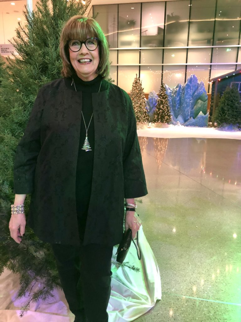 Pamela Lutrell at USAA Party 2019