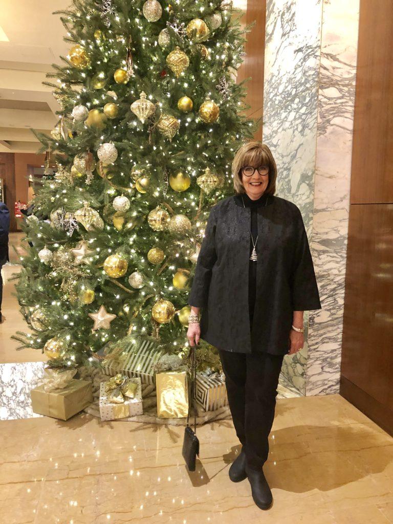 Pamela Lutrell in the Grand Hyatt