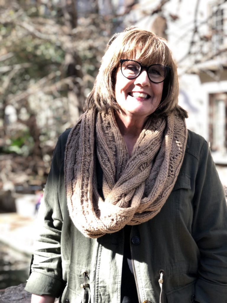 Pamela Lutrell on San Antonio Riverwalk