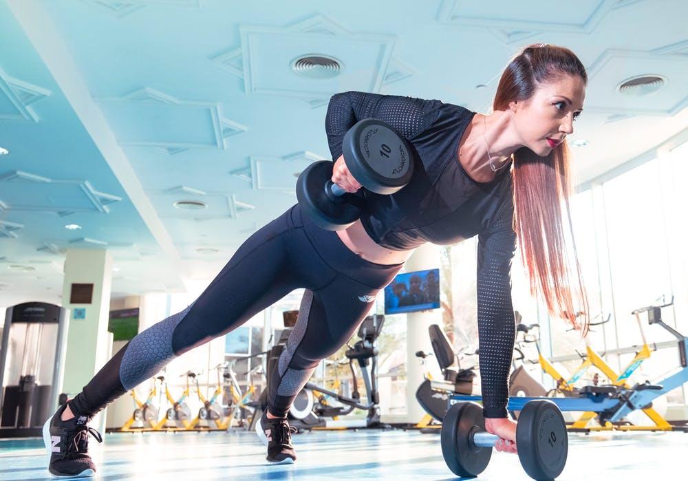 Pamela Lutrell extols weight training