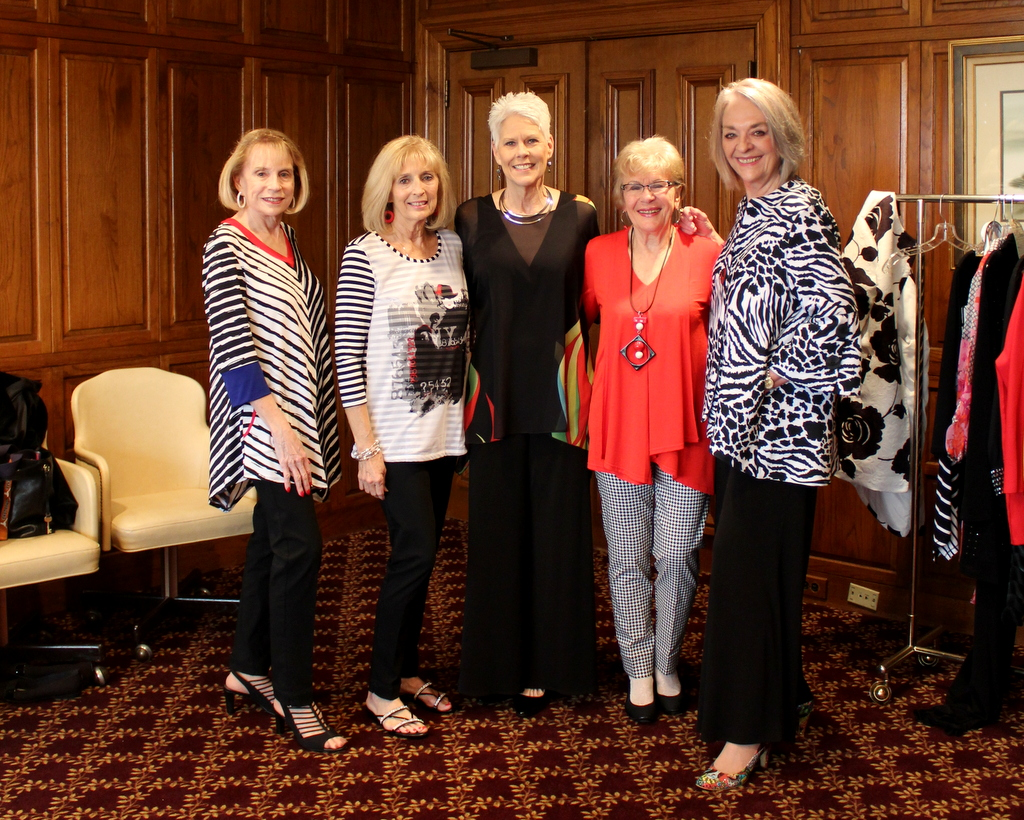 Pamela Lutrell shows ladies over 50 who model their fashion