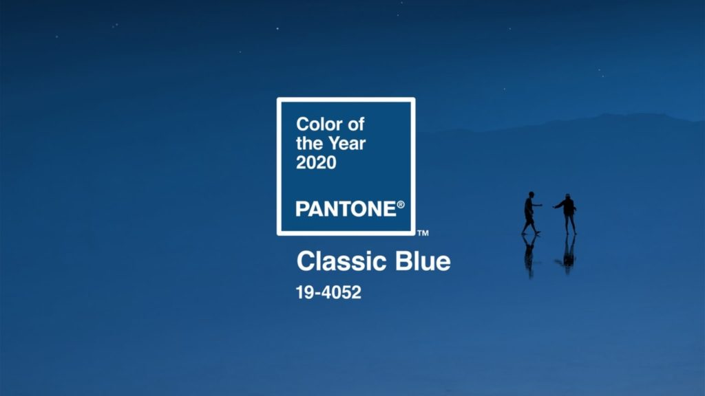 Pamela Lutrell introduces Pantones Color of the Year for 2020