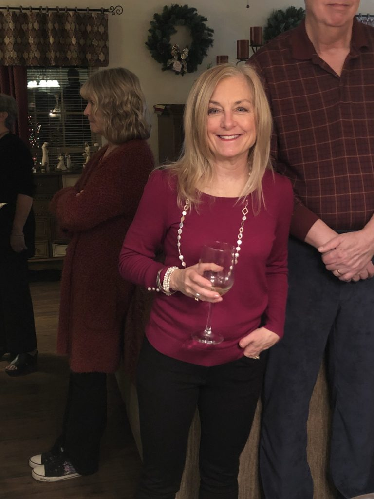 Pamela Lutrell shares casual Christmas party looks