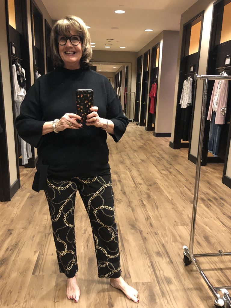 Pamela Lutrell in Chicos January Styles
