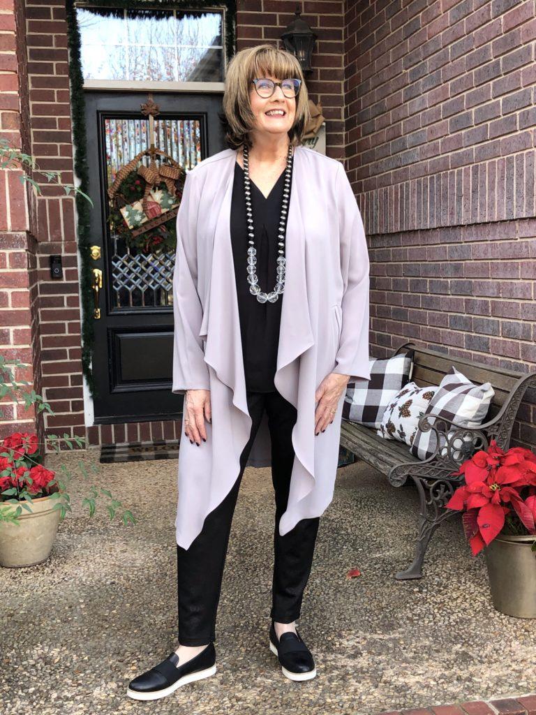 Pamela Lutrell demonstrates style goal #5