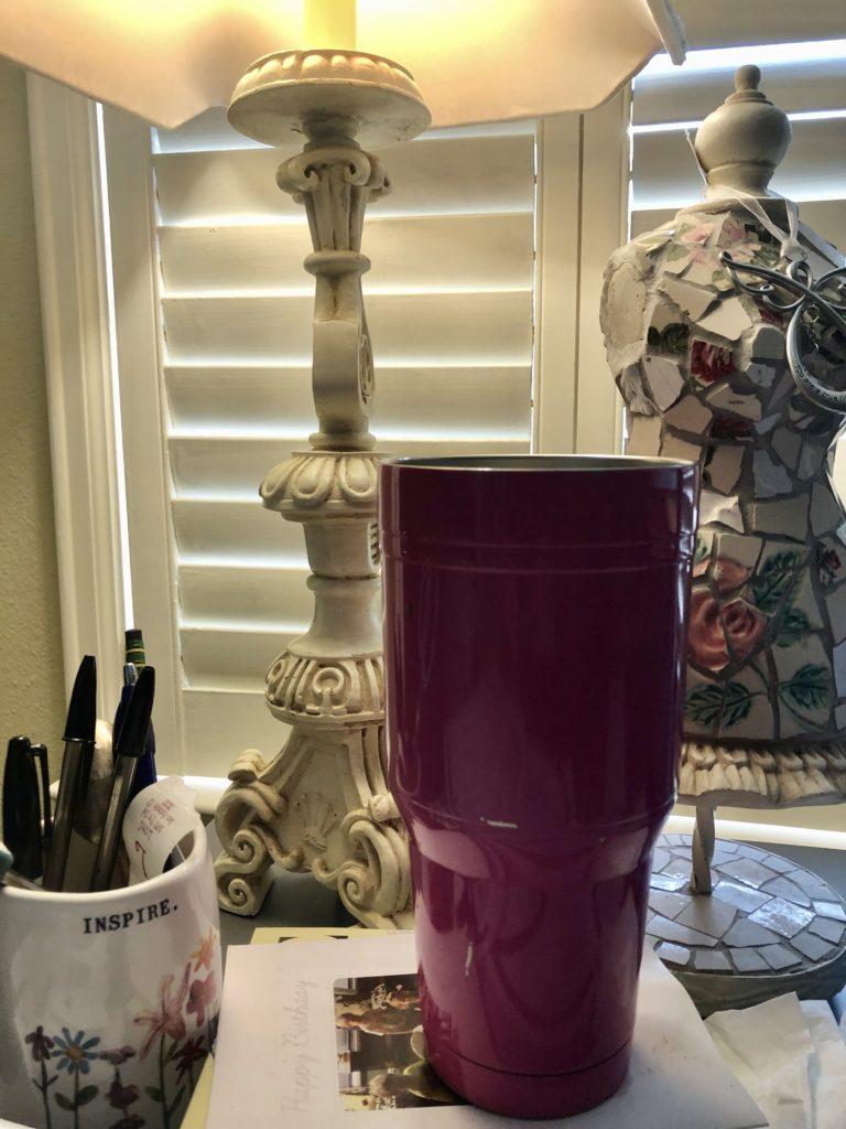 Pamela Lutrell's Water Cup