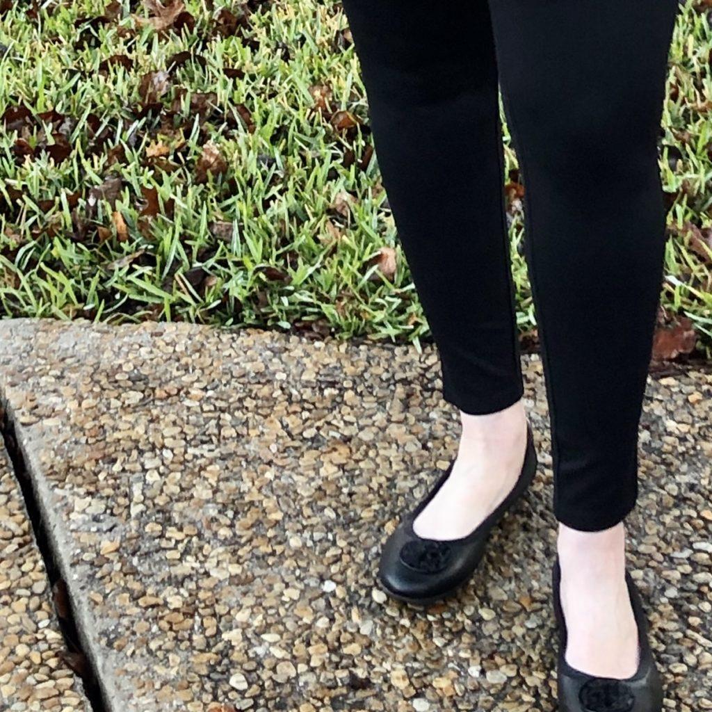 Pamela Lutrell wears Catherines best leggings