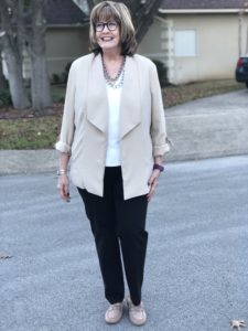 Pamela Lutrell Shops January sales at Chicos