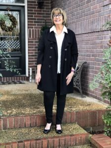 Pamela Lutrell in simple style