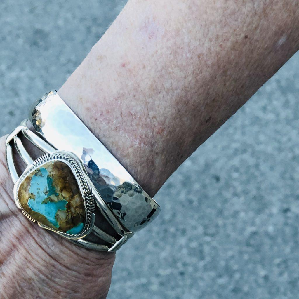 Pamela Lutrell on wearing all silver