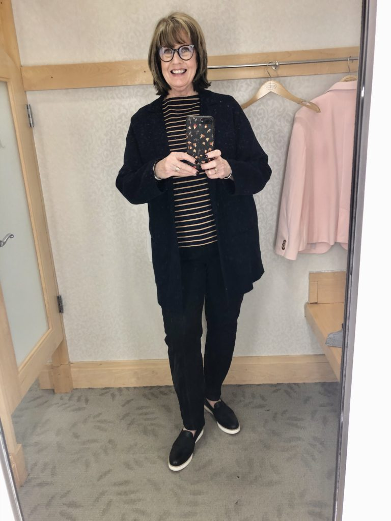 Pamela Lutrell in Talbots January 2020