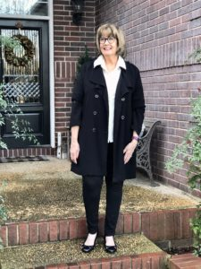 Pamela Lutrell in classic simple style