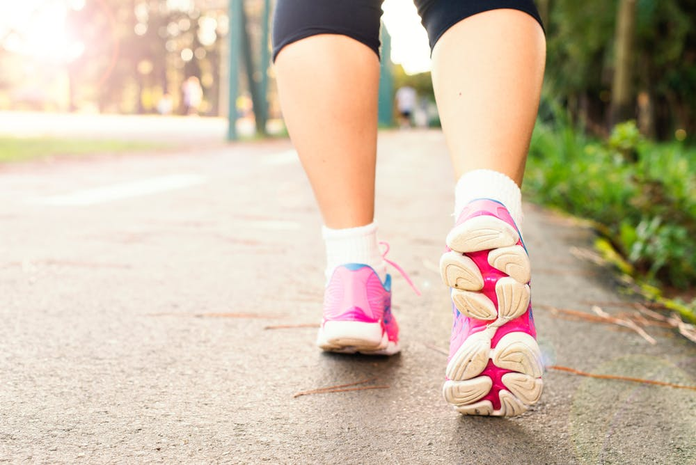 Pamela Lutrell discusses walking