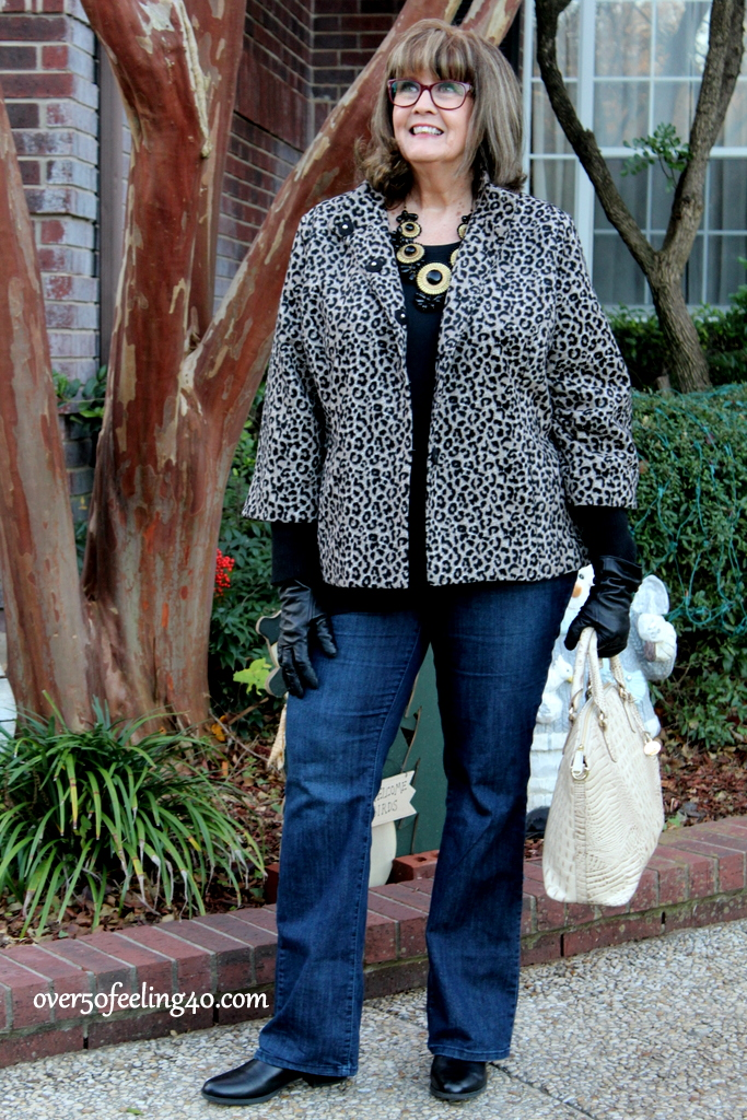 over 50 feeling 40 in current leopard trend