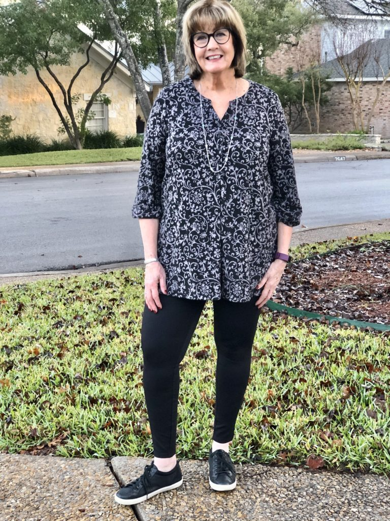Over 50 Feeling 40 in Woodhouse Henley Tunic from Catherines