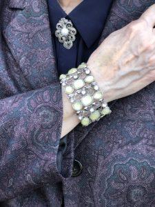 Pamela Lutrell accessories Goodwill Jacket