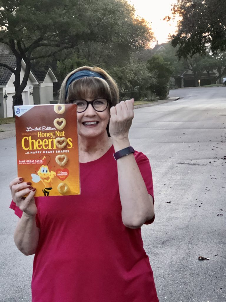Over 50 Feeling 40 with Honey Nut Cheerios