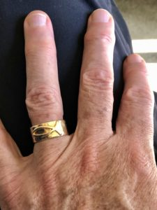Pamela Lutrell's husband wedding ring