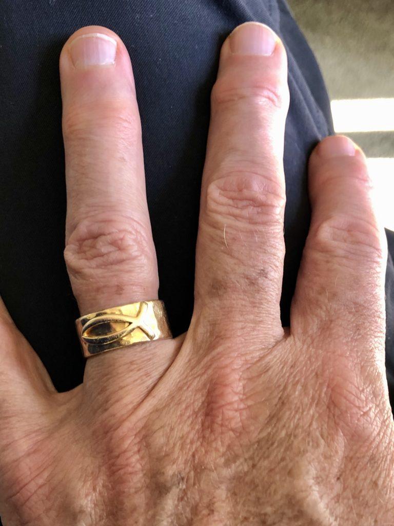 Pamela Lutrell's husband wedding ring