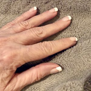Pamela Lutrell recommends a French Manicure