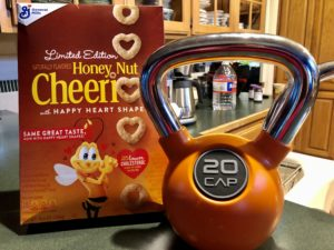 Pamela Lutrell chooses Cheerios for healthy llifestyle