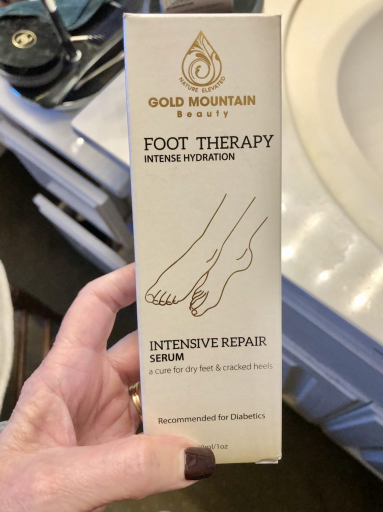 Pamela Lutrell on use of foot serum