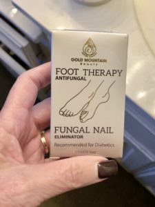 Pamela Lutrell for fungal nail therapy