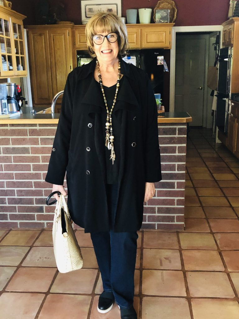 Pamela Lutrell in fashion over 50