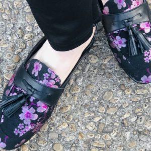 Pamela Lutrell for foot care for wearing slides