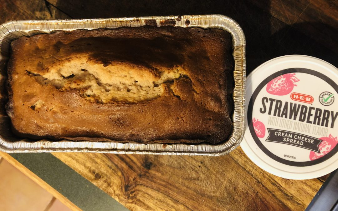 Baking Office Treats for Valentine's Day: Strawberry-Walnut Bread