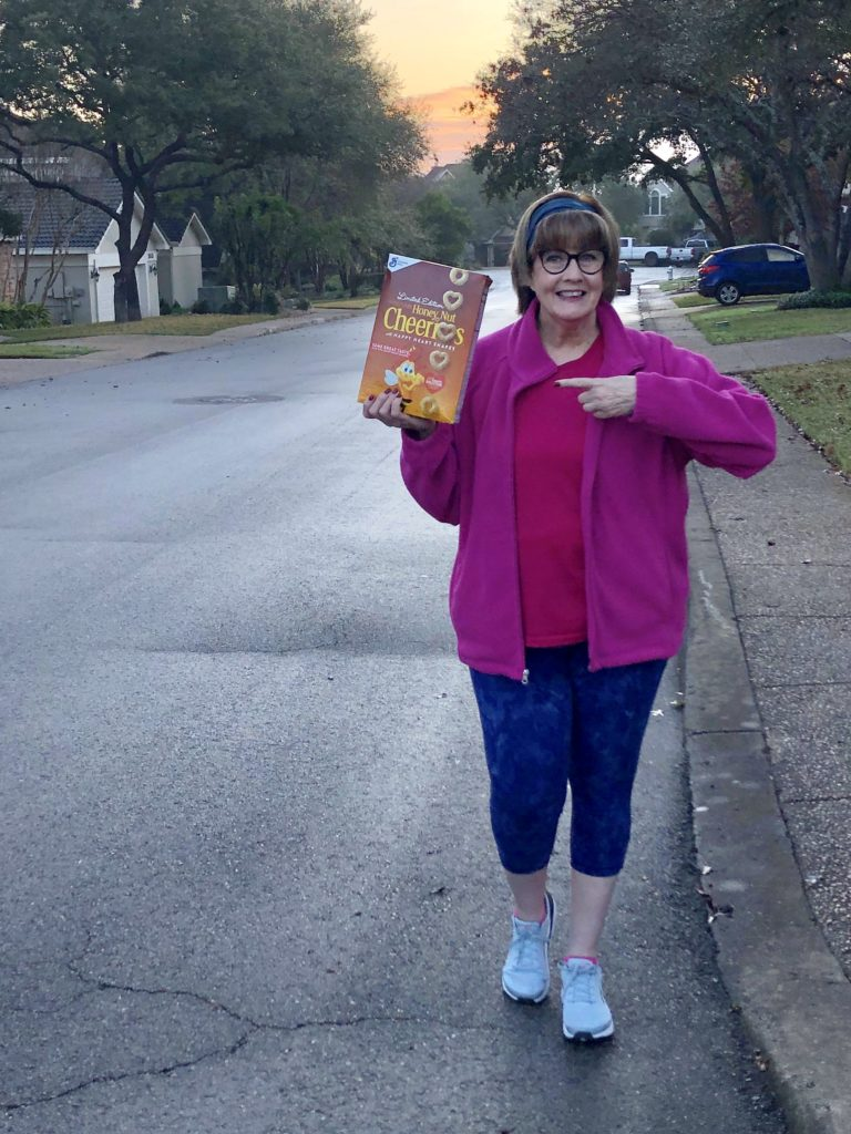 Pamela Lutrell for Honey Nut Cheerios