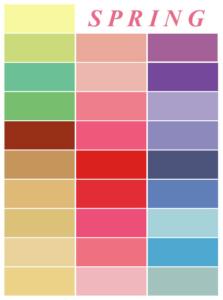 Pamela Lutrell shows colors Springs Wear