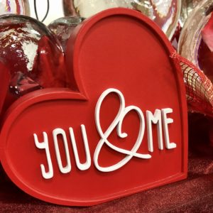 Home Decor for Valentine's at HEB