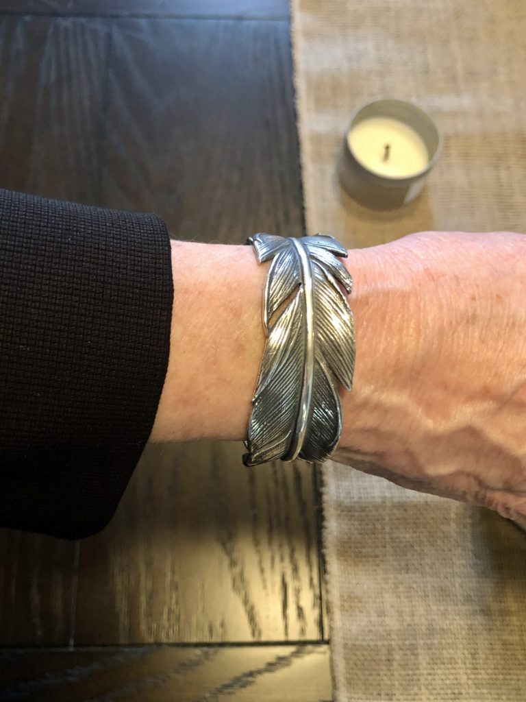 James Avery feather cuff